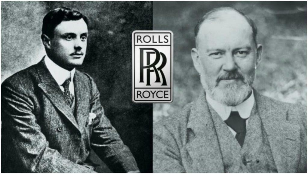 Charles Rolls și Frederick Henry Royce